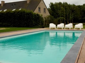Allpools zwembaden realisatie Diksmuide bouwkundig buitenzwembad