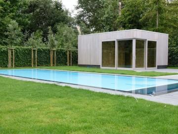 realisatie bouw zwembad